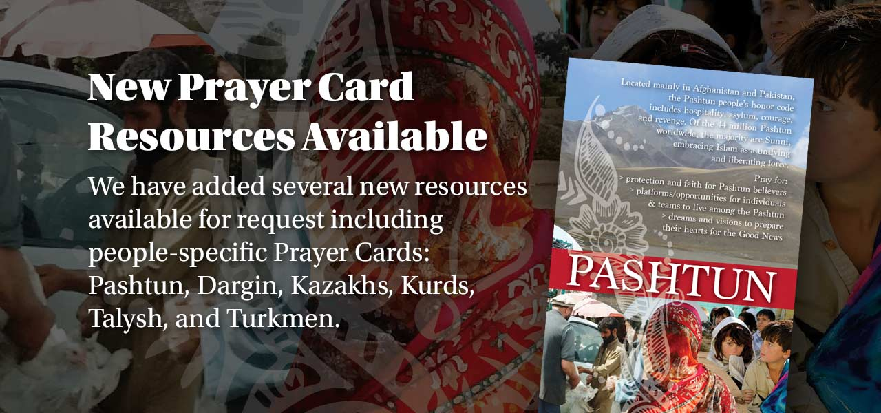 New Prayer Card Resources
