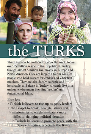 Prayer Card: Turks